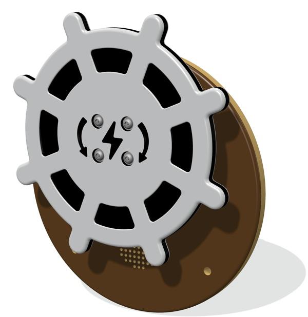 RotoGen Ships Wheel Musical Insert